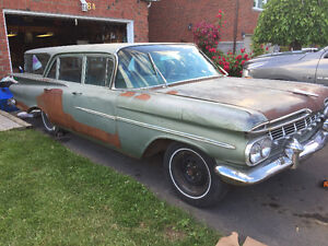 1959 Chevy brookwood wagon