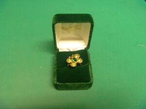 Sarah Coventry Butterfly Ring Size 7 1/2