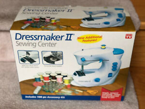 BNIB DressmakerII Sewing Center Compact Portable Sewing Machine