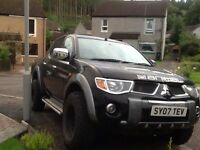 Mitsubishi l200 animal