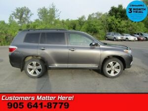 2013 Toyota Highlander Sport  4WD LEATH ROOF 7-PASS HS HOME-REMO