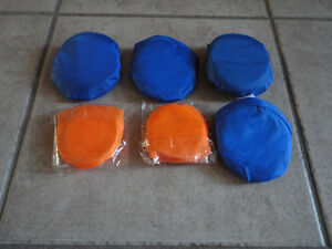 Lot of 6 assorted folding frisbees Brand new London Ontario image 1