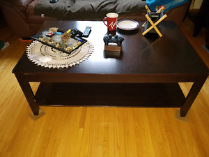 Coffee table and matching end tables Best offer
