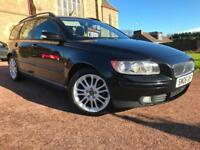 *3 MTHS WARRANTY*2006(56)VOLVO V50 1.8 SE ESTATE WITH FULL HEATED LEATHER 93K*