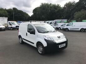 Peugeot Bipper 1.3 HDI 75 S PLUS PACK NON S/S EURO 5 DIESEL MANUAL WHITE (2015)