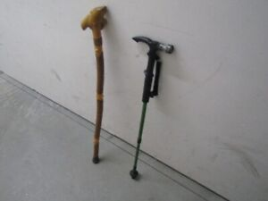 Cane & Walking Stick $2 each or $3 for both