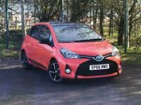 2016 Toyota Yaris Orange Edition TSS 1.5 Hybrid CVT Auto 5dr Hatchback Hybrid Au