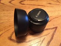 Canon 50mm 1.8f lens (nifty fifty)