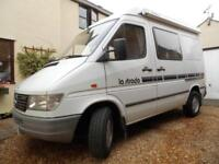 MERCEDES LA STRADA 2 BERTH LOW MILES LONG MOT MOTORHOME FOR SALE