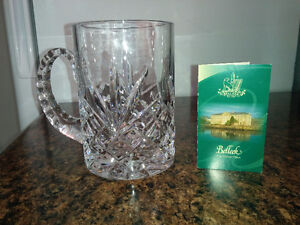 Galway Crystal Beer Mug - it's heavy, great gift for a Man   $50