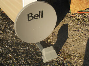 Shaw or Bell satelite