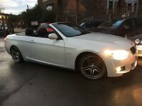 BMW 3 SERIES 2.0 320d M SPORT (white pearlscent mineral metal) 2011