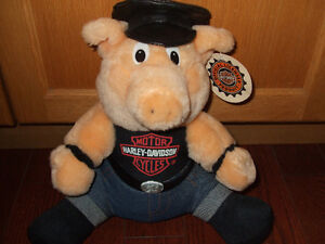 harley davidson plush toy new with tags Kitchener / Waterloo Kitchener Area image 1