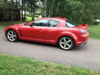 2005 Mazda RX-8 GT - Comes with 4 winter tires