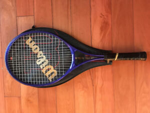 Spalding Tennis Racket with cover