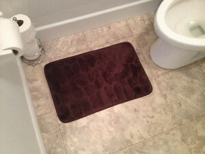 Dry off mat for bathroom - $2