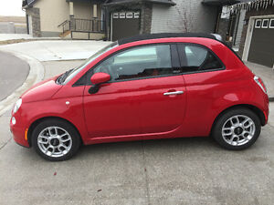 2012 Fiat 500 Pop Convertible- Like New Condition $12870