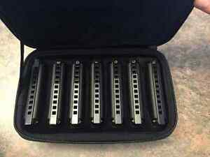 "BRAND NEW ""Piedmond Blues"" never been used harmonicas."