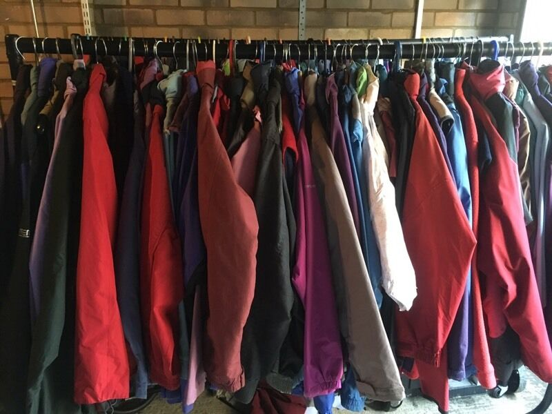 Job Lot Of 100 Outdoor Jackets In Very Good Condition