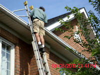 EAVESTROUGHS PROFESSIONALLY CLEANED - FAST QUOTE 647-202-7267