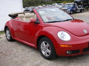 2010 Volkswagen Beetle Convertible ,Yarmouth ONLY $9995.00