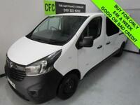 2015 Vauxhall Vivaro 1.6CDTi 115 2900 L2H1 crew cab BUY FOR £48 A WEEK