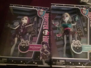 Ghouls Night Out Monster High Dolls Boxed Mint