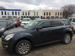 2010 CHEVROLET EQUINOX LT AWD,VERY CLEAN,LEATHER,DEALER SERVICED
