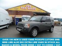 2009 09 LAND ROVER DISCOVERY 2.7 3 TDV6 XS 5D AUTO 188 BHP LEAHTER + AIR CON + S