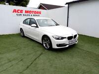 2012 62 BMW 320 2.0TD D SPORT 184 BHP SALOON,70,000 MILES WITH FULL SERV HISTORY