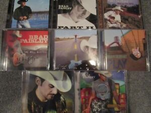 BRAD PAISLEY - 8 CD Collection