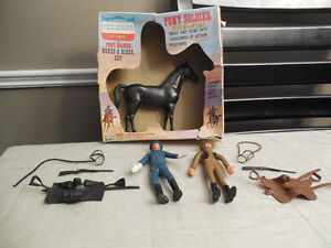 "1967 Lakeside Toy ""Tex Starr The Westerner Horse & Rider Set"""