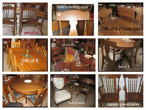 Antique  -:-  Kitchen Chairs  -:- Dining Room Chairs -:- ...