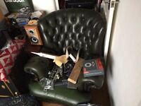 Chesterfield 3 piece sofa
