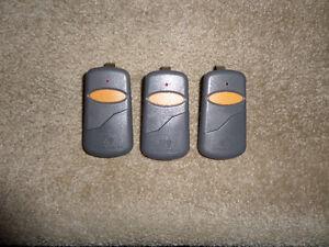 Stinger REMOTE GARAGE DOOR OPENERS (390MHZ) REDUCED PRICE!!