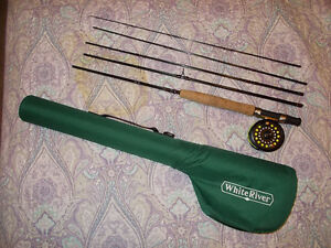 fly rod, reel and case combo