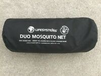 Lifestyle Duo Mosquito Net - Size: Double Bed