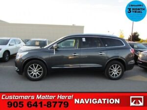2014 Buick Enclave Leather  BLIND SPOT BOSE P/GATE CAM 7-PASS 2X