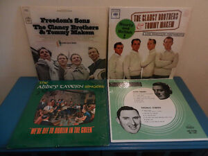 Vinyl Records/LP's Irish Music Rovers,Clancy Brothers Lot of 12