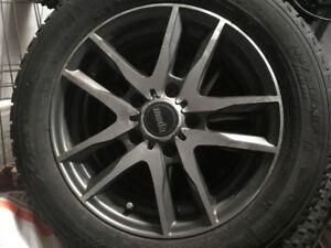 New Michelin Winter Tires on Moda Alloy Rims
