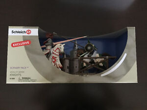 Schleich Tournament Knights Scenery Pack Toy Cambridge Kitchener Area image 1