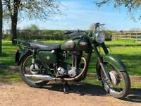 Matchless G3 1960 350cc 100% Original Condition. Dutch Army Classic Motorcycle