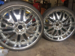 Cheap chrome rims