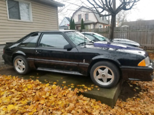 1989 Ford Mustang Cobra 25th anniversary numbers matching