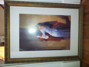 Framed Art Poster Il Bacio-The Kiss Francesco Hayez