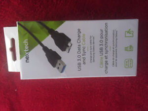 Nextech data charge and sync cable