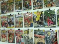 COMIC BOOKS FROM ALL AGES