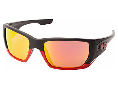 0fc89d3f56 Oakley Men s Style Switch Scuderia Ferrari Sunglasses OO9194-24 Matte Black  Ruby