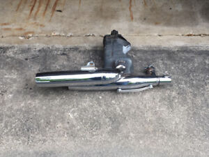 Stock muffler for Yamaha 1100 Virago
