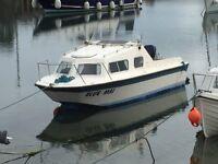 Microplus 561smuggler fishing boat cabin cruiser
